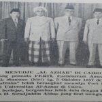 Buya H. Sirajuddin Abbas Meninjau Universitas al-Azhar dari Dekat